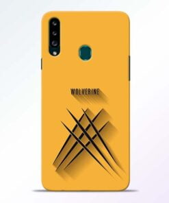 Wolverine Samsung Galaxy A20s Mobile Cover - CoversGap
