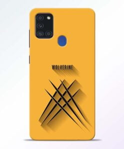 Wolverine Samsung Galaxy A21s Mobile Cover - CoversGap