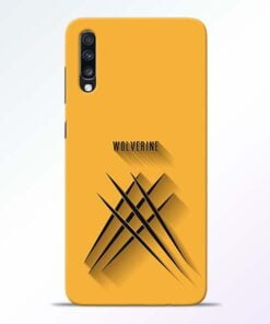 Wolverine Samsung Galaxy A70 Mobile Cover - CoversGap