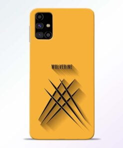 Wolverine Samsung Galaxy M31s Mobile Cover - CoversGap