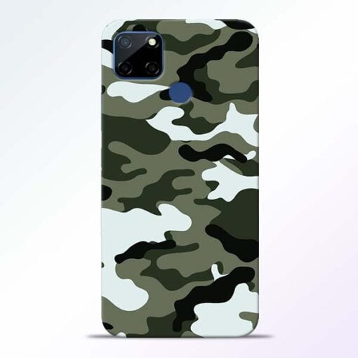 Army Camo Realme C12 Back Cover - CoversGap