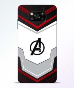 Avenger Endgame Poco X3 Back Cover - CoversGap