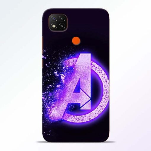 Avengers A Redmi 9 Back Cover - CoversGap