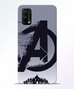 Avengers Team Realme 7 Pro Back Cover - CoversGap