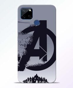Avengers Team Realme C12 Back Cover - CoversGap