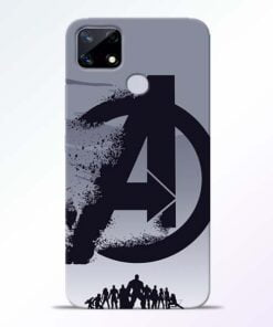 Avengers Team Realme Narzo 20 Back Cover - CoversGap