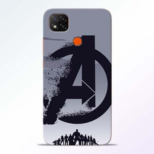 Avengers Team Redmi 9 Back Cover - CoversGap