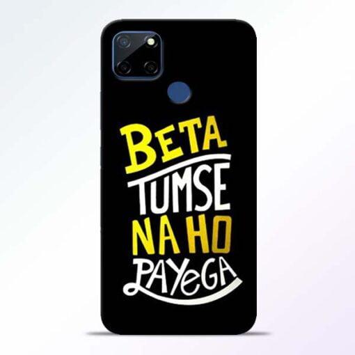Beta Tumse Na Realme C12 Back Cover - CoversGap