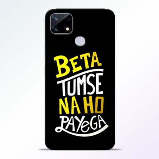 Beta Tumse Na Realme Narzo 20 Back Cover - CoversGap