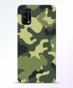 Camouflage Realme 7 Pro Back Cover - CoversGap