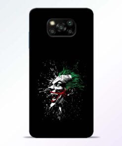 Crazy Joker Poco X3 Back Cover - CoversGap