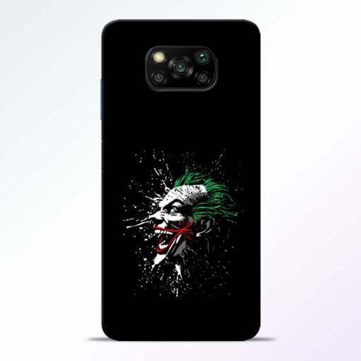 Crazy Joker Poco X3 Back Cover - CoversGap