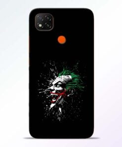 Crazy Joker Redmi 9 Back Cover - CoversGap