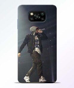 Eminem Style Poco X3 Back Cover - CoversGap