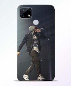 Eminem Style Realme Narzo 20 Back Cover - CoversGap
