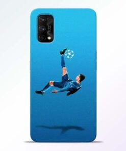 Football Kick Realme 7 Pro Back Cover - CoversGap