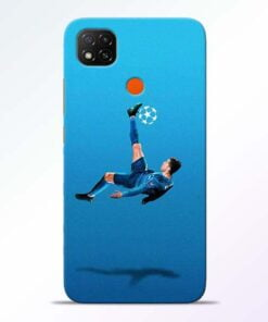 Football Kick Redmi 9 Back Cover - CoversGap