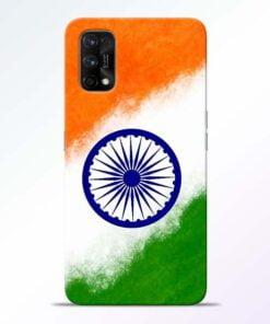 Indian Flag Realme 7 Pro Back Cover - CoversGap