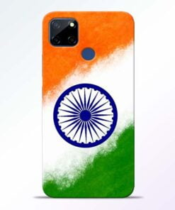 Indian Flag Realme C12 Back Cover - CoversGap