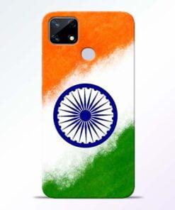 Indian Flag Realme Narzo 20 Back Cover - CoversGap