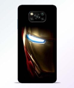 Iron Man Poco X3 Back Cover - CoversGap