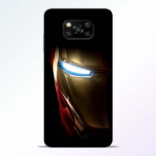 Iron Man Poco X3 Back Cover - CoversGap
