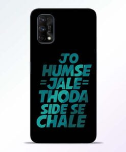 Jo Humse Jale Realme 7 Pro Back Cover - CoversGap
