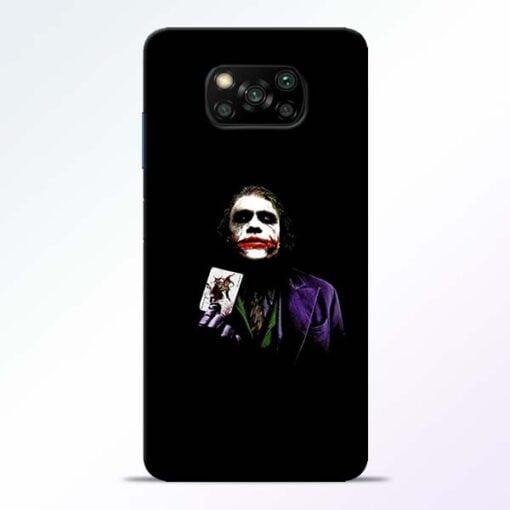 Joker Card Poco X3 Back Cover - CoversGap