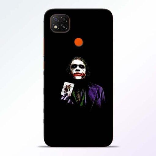 Joker Card Redmi 9 Back Cover - CoversGap