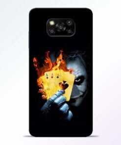 Joker Shows Poco X3 Back Cover - CoversGap