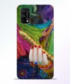 Krishna Hand Realme 7 Pro Back Cover - CoversGap