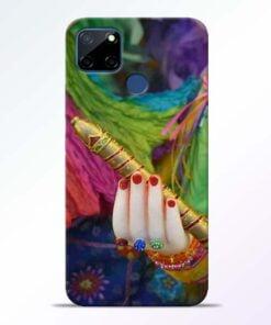 Krishna Hand Realme C12 Back Cover - CoversGap