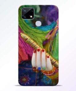 Krishna Hand Realme Narzo 20 Back Cover - CoversGap