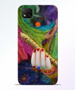 Krishna Hand Redmi 9 Back Cover - CoversGap