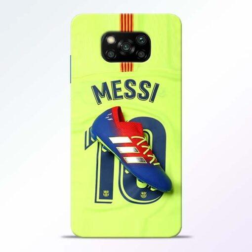 Leo Messi Poco X3 Back Cover - CoversGap