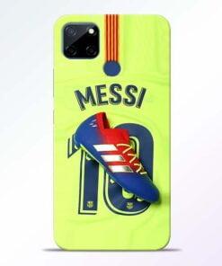 Leo Messi Realme C12 Back Cover - CoversGap