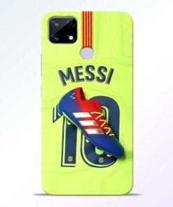 Leo Messi Realme Narzo 20 Back Cover - CoversGap