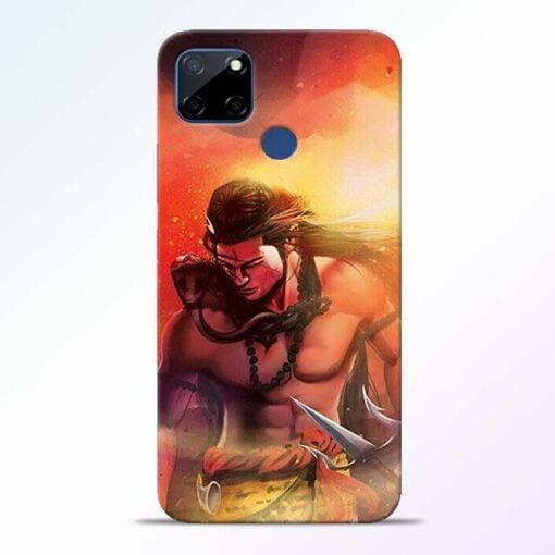 Lord Mahadev Realme C12 Back Cover - CoversGap