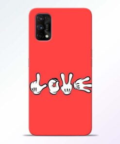 Love Symbol Realme 7 Pro Back Cover - CoversGap