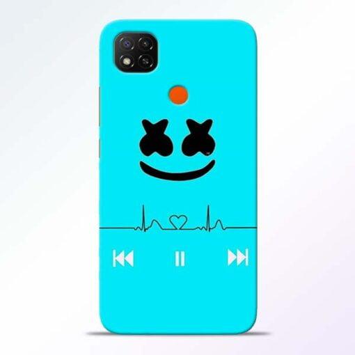 Marshmello Song Redmi 9 Back Cover - CoversGap