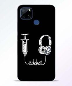 Music Addict Realme C12 Back Cover - CoversGap