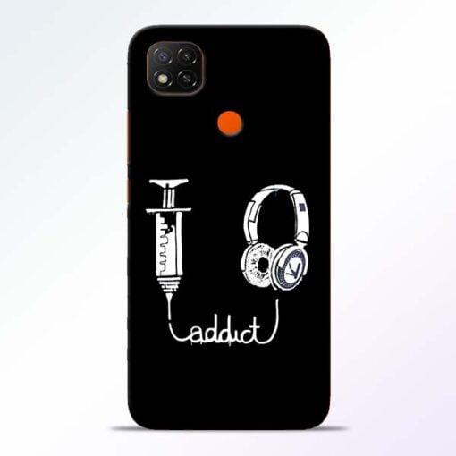 Music Addict Redmi 9 Back Cover - CoversGap