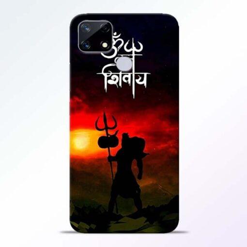 Om Mahadev Realme Narzo 20 Back Cover - CoversGap