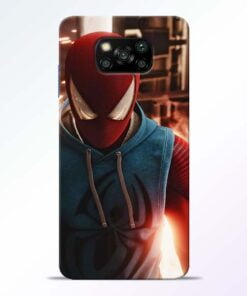 SpiderMan Eye Poco X3 Back Cover - CoversGap