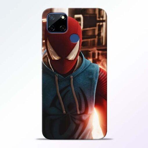 SpiderMan Eye Realme C12 Back Cover - CoversGap
