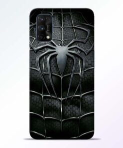 Spiderman Web Realme 7 Pro Back Cover - CoversGap