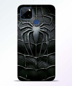 Spiderman Web Realme C12 Back Cover - CoversGap