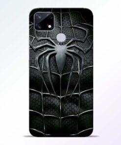 Spiderman Web Realme Narzo 20 Back Cover - CoversGap