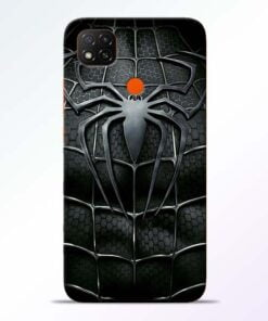 Spiderman Web Redmi 9 Back Cover - CoversGap