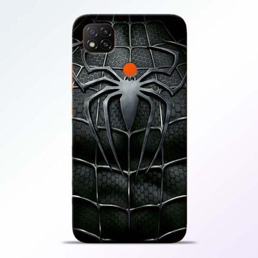 Spiderman Web Redmi 9 Back Cover - CoversGap